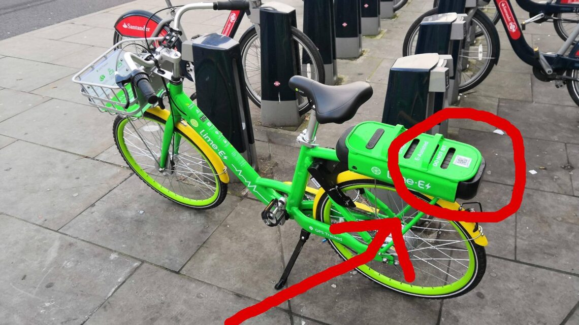 QR-Code e Bike
