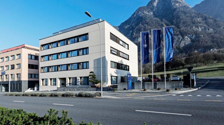 Bank Frick Hauptsitz, Balzers