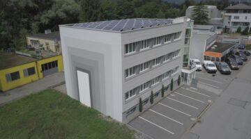 Modernes Bürohaus in Vaduz