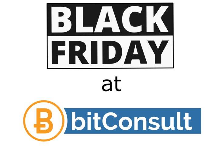 Black Friday und Weihnachten 2019 bei bitConsult