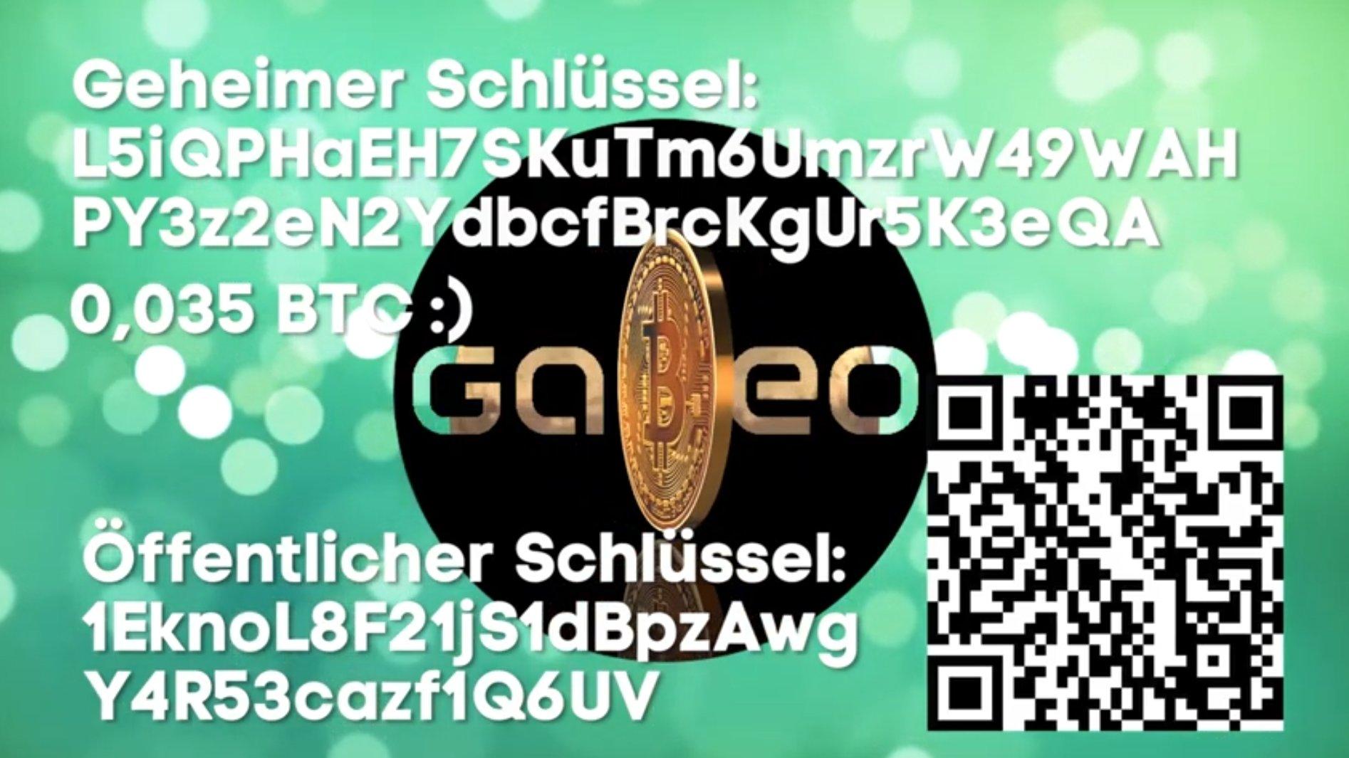 Galileo Bitcoin